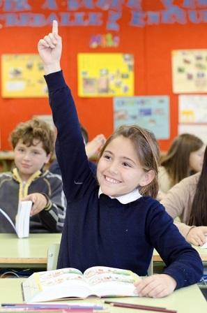 インターナショナルスクールの子供