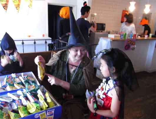 ハロウィーンパーティー(2011年10月)4