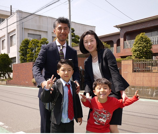 Yさん家族写真